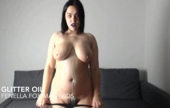 Glitter Oil 720p - Fenella Fox
