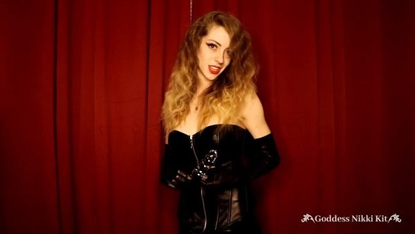 Locked in Chastity by a Leather Mistress 1080p – Goddess Nikki Kit