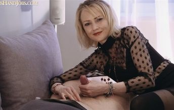 Long Clear Nails HandJob 720p - Lilu