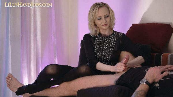Mistress over Teased HandJob _Huge Cumshot 720p – Lilu
