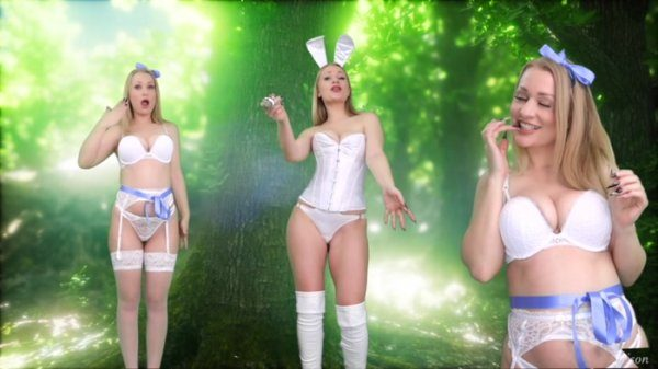 Goddess Poison – Subby in Wonderland!