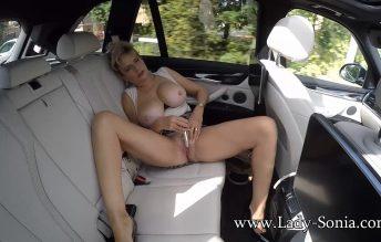 Flashing My Big Tits In The Car 1080p - Lady Sonia