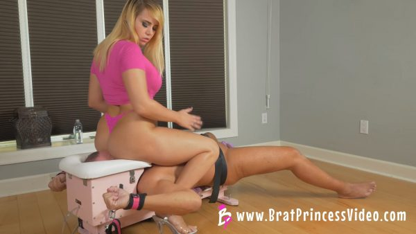 Brat Princess – Natalya – Good for Nothing used as Chair for Princess
