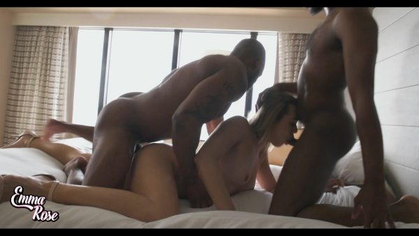 tsEmmaRose – Pounded in Big Cock Threesome