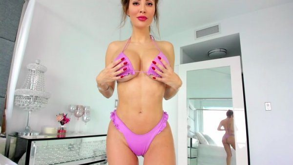 Exquisite Goddess – New lilac bikini