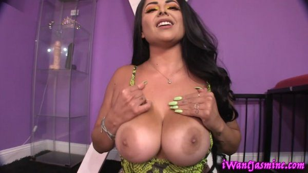 Goddess Jasmine Mendez – Cum Cube JOI