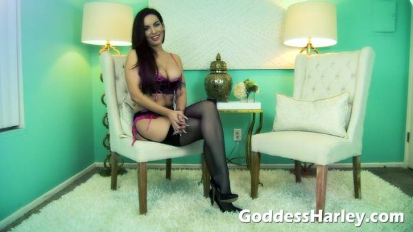 Goddess Harley – Be A Whore For Me