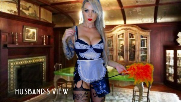 Domme Bombshell – Domme Jerking Off Story The House Keeper Succubus – Halloween