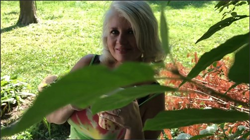 Painted Rose – Mommy's Boy Mows Her Lawn