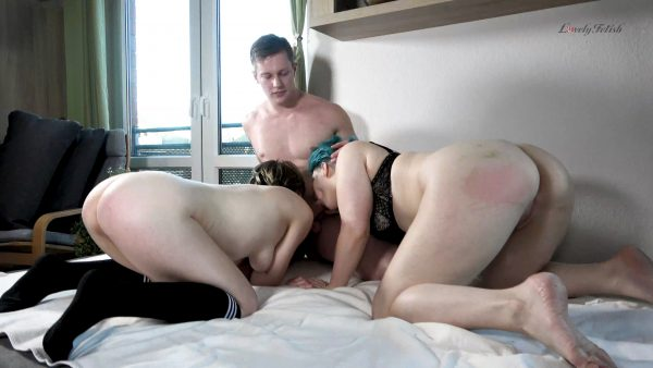 Lovely Fetish Spanking Bondage More – Clip 147A-SK Threesome-Massage-Eskalation – Part 1