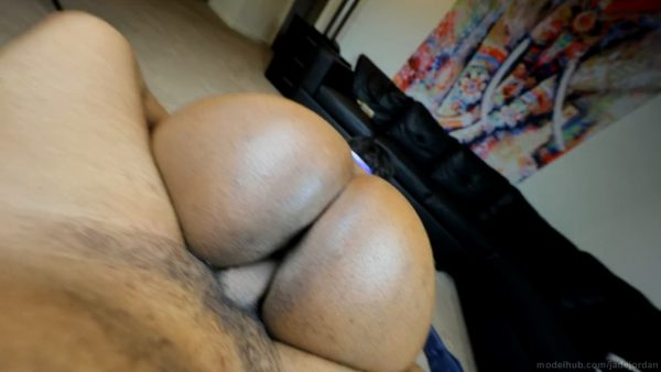 Jade Jordan – BBW DOUBLE CREAMPIED By X After B-Ballin