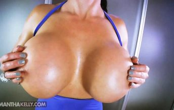Samantha Kelly - 1100cc Boob Bounce And Breast Expansion