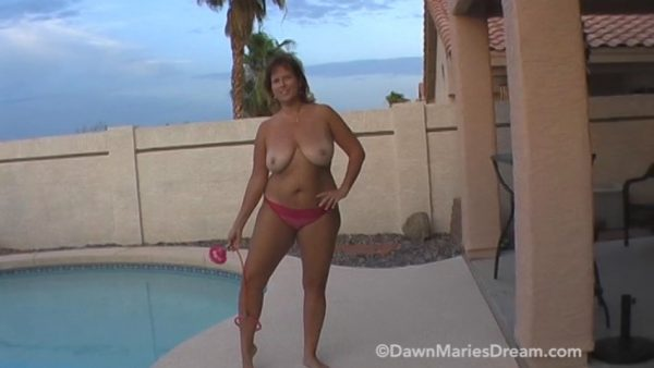 Dawn Marie – Titty Bouncing with Skip It Toy