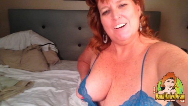 Dawn Marie – Up Close and Very Personal Selfie
