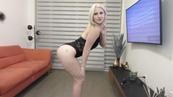 JessiHeat – Blonde Teen Twerking In Heels Bodysuit 1080p