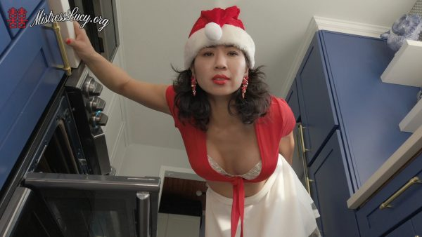 Mistress Lucy Khan – Dirty Xxxmas Panty Worship Instructions