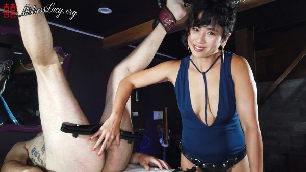 Mistress Lucy Khan – Lucy Torments Subby Hubbys Balls