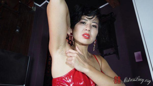 Mistress Lucy Khan – Mistress Lucys Hairy Armpit Seduction