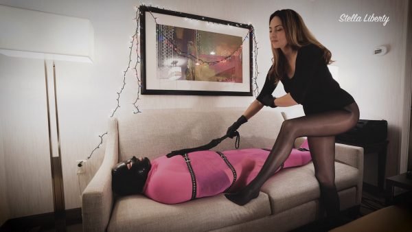 Stella Liberty – Nylon Encasement for Candi Cumdump