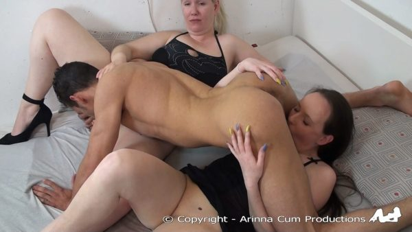 Arinna Cum – Threesome With Marvin And Shirly