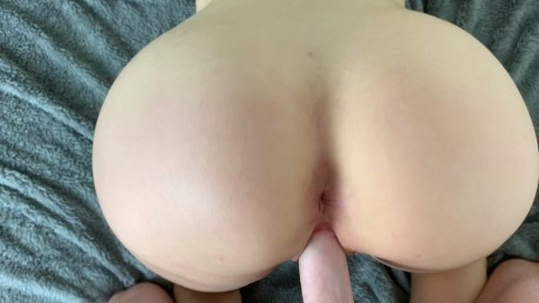 Ashly Anderson – Curvy Brunette Pov Doggy With Creampie