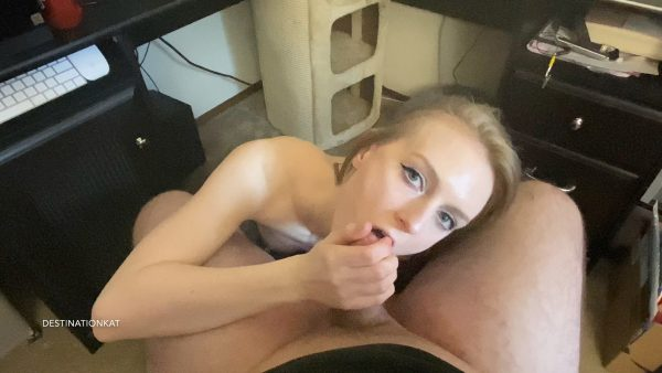 Destinationkat – POV BJ and Cum