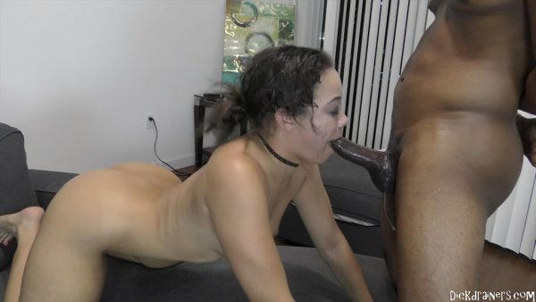 DickDrainers – Adriana Maya – Getting Blackmailed Makes Adriana Puke