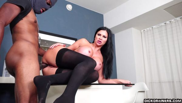 DickDrainers – Jasmine Jae – A Mother Will Do ANYTHING For Her Son Even Taking BBC Up The Arse