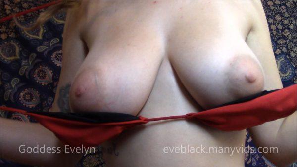 Goddess Evelyn Black – Tit Slave