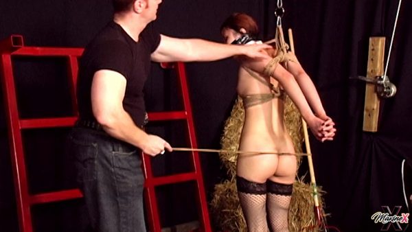 Maxine – 19 Year Old Jaden In Her First Bondage And Forced Orgasm Experience
