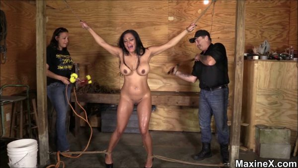 Maxine – Interrogated And Tortured – Part 1