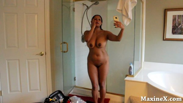 Maxine – Taking A Shower After The Orgy