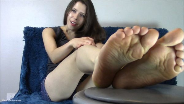 Miss Melissa – PE Training For a Foot Slave Sessions 1 to 4