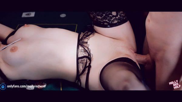 MollyRedWolf – Lost her Body at Cards- Yumeko Kakegurui Cosplay