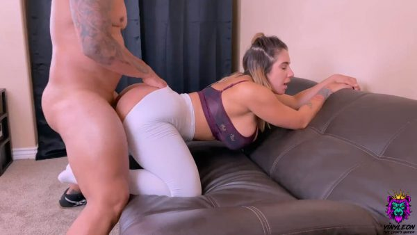 Yinyleon – Yoga Instructor Gets Rough Anal from one of her Students after Class