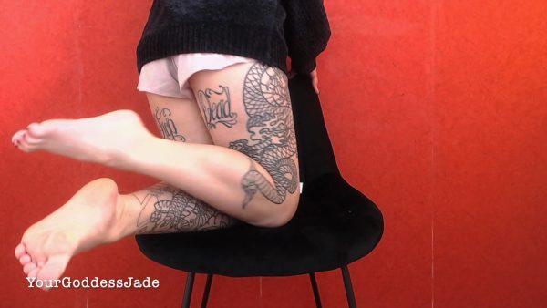 Goddess Jade – Cum For Feet