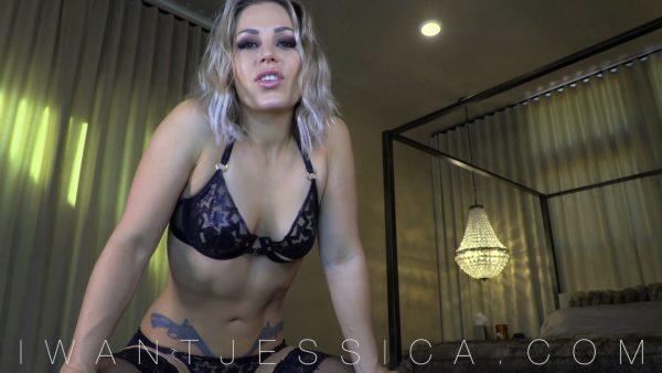 Goddess Jessica – Ballgagged Cum Whore