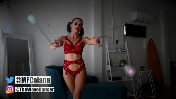 Mistress Alana – Live CamShow – Harley Quinn Costume