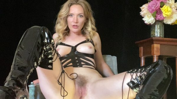 Mona Wales – Worship My Shiny Leather Boots Scum