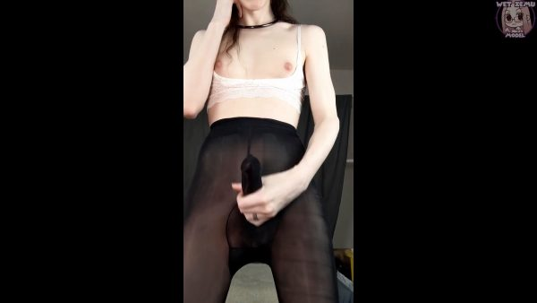 WetZemu – Watch My Peenhose Tease and Cum for Me