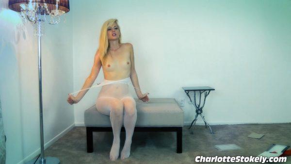 Charlotte Stokely – Triple Body Stocking Show