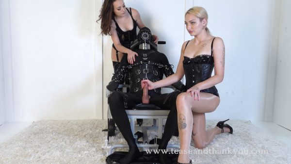 Lucid Lavender and Velma – Black Leather Absolute Ruin