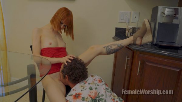 Female Worship – Youll Have To Make Me Breakfast After