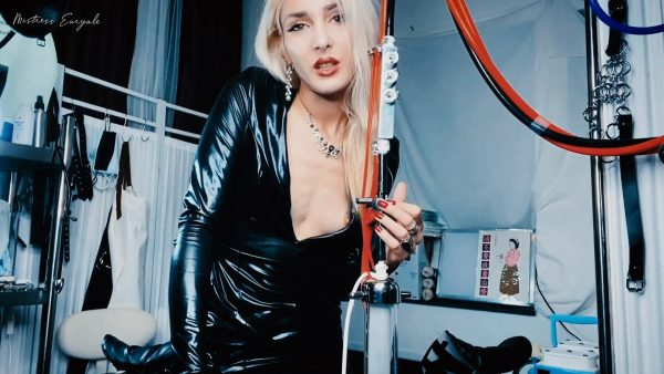 Mistress Euryale – Milking Machine Trance
