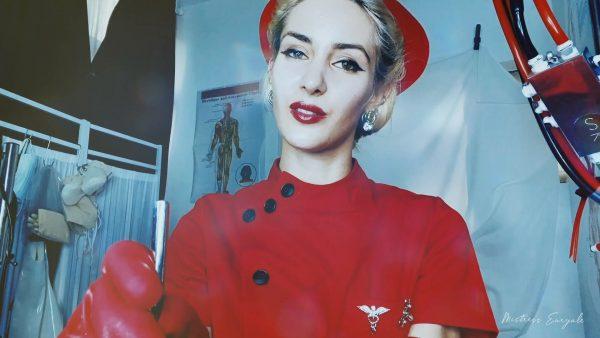 Mistress Euryale – Urethral sounding by the red nurse