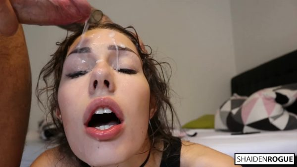 Shaiden Rogue – No Mercy for My Throat Rough Deepthroat Face Fucking and Rimming