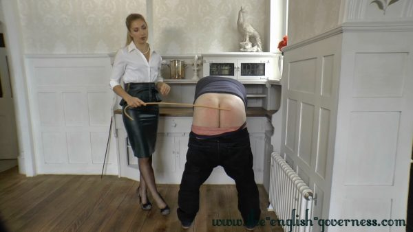TheEnglishGoverness – Stephanie Bonham Carter – Disciplines The Head Master 1