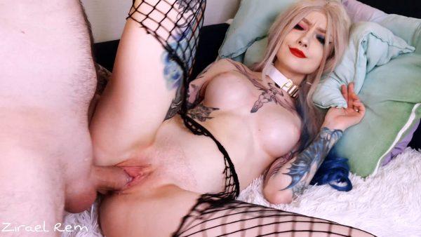 Zirael Rem – Harley Quinn Enjoys Puddin Cock