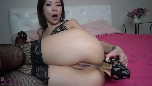 Aiko Moe – HEELS FUCK Anal Spitroast DP Doubl Vag