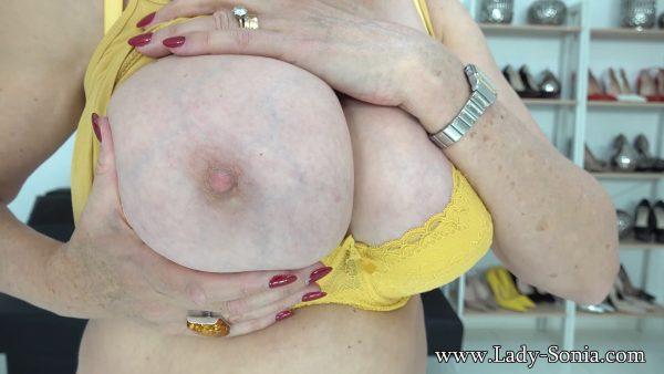 Lady Sonia – Edging For Big MILF Tits